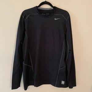 Nike Pro Combat Dri-Fit Long Sleeve Shirt Black